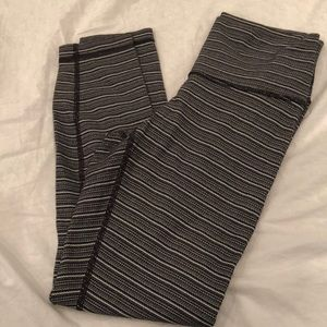 Lululemon wunderunder crop pants